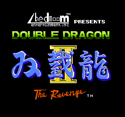 【Title】双截龙2(改版)_Double Dragon II - The Revenge by Abedmoom (Hack).png