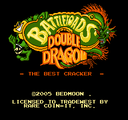 【Title】忍者蛙与双截龙(改版)_Battletoads & Double Dragon - The Best Cracker (Hack).png