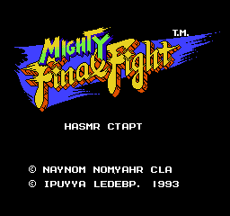 【Title】快打旋风(日译版)_Mighty Final Fight (U) [T+Jap_Ipuyya][4.4].png