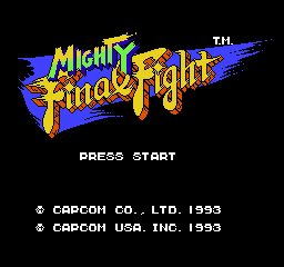 【Title】快打旋风(GBA版)_Mighty Final Fight (GBA-Capcom Classics).png