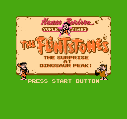 【Title】摩登原始人2(盗版)_The Flintstones - The Surprise at Dinosaur Peak! (U) [p1].png