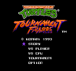 【Title】激龟快打(改版)_Teenage Mutant Ninja Turtles - Tournament Fighters - Plus (Hack).png