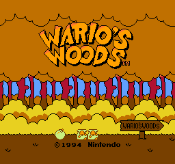 【Title】瓦里奥森林(改版)_Wario's Woods GAY Great Autumn Yesterday by L.Soft (v1.0) (Hack).png