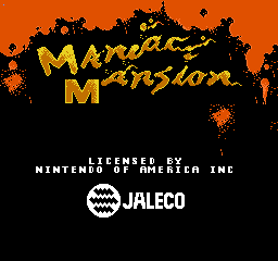 【Title】疯狂大楼(工程版)_Maniac Mansion (U) (Prototype).png
