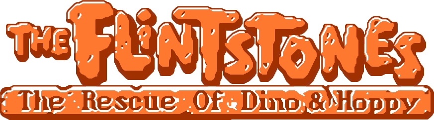 【GameLogo】The Flintstones - The Rescue of Dino & Hoppy (World) (2).png